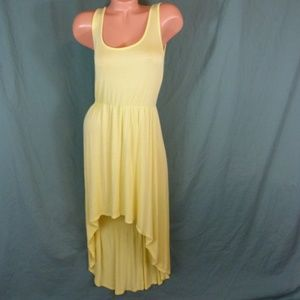 Charlotte Russe Large High Lo Yellow Dress Yellow
